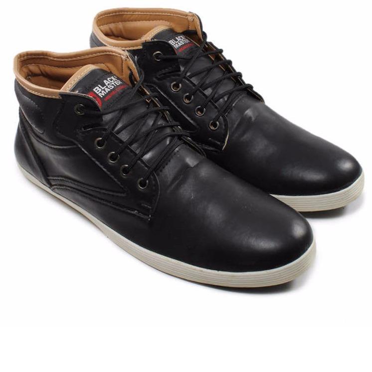 Sepatu Boots Pria black master Kickers Cortex kuliah sekolah / Hiking / Gunung / Touring / Trekking Casual Cowok Termurah