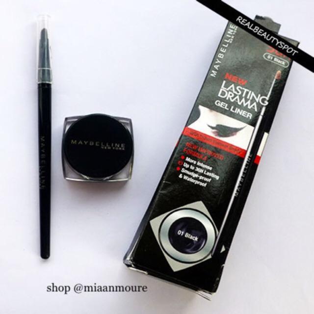 Maybelline Eye Studio Gel Eyeliner 01 Hitam