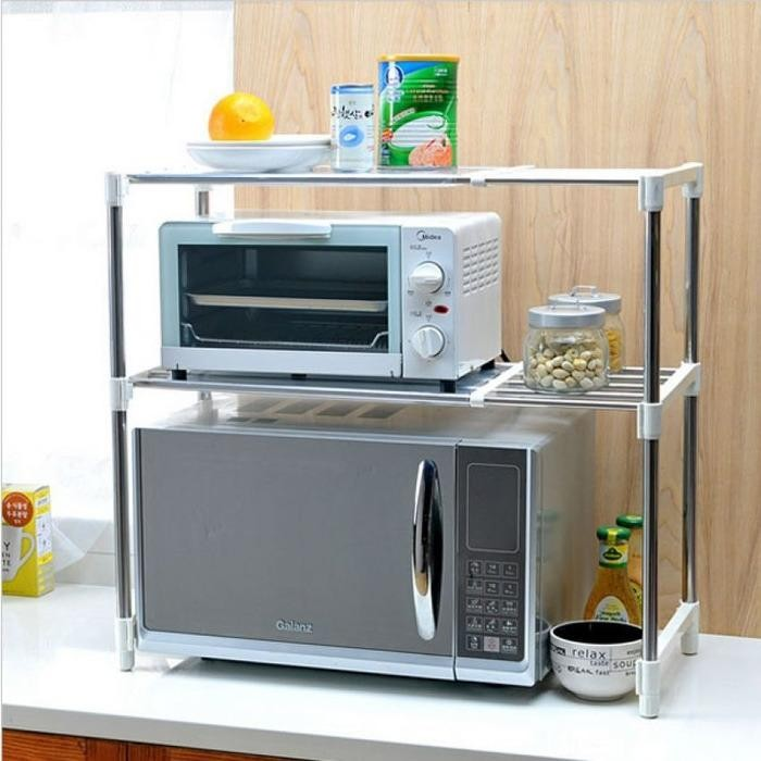 Lemari Sebaguna Di Dapur Lemari Kitchen Set Minimalis Rak Bumbu Minimalis Furnitur Lemari Dapur Rak Untuk Panci Rak Dapur 225 2 Susun