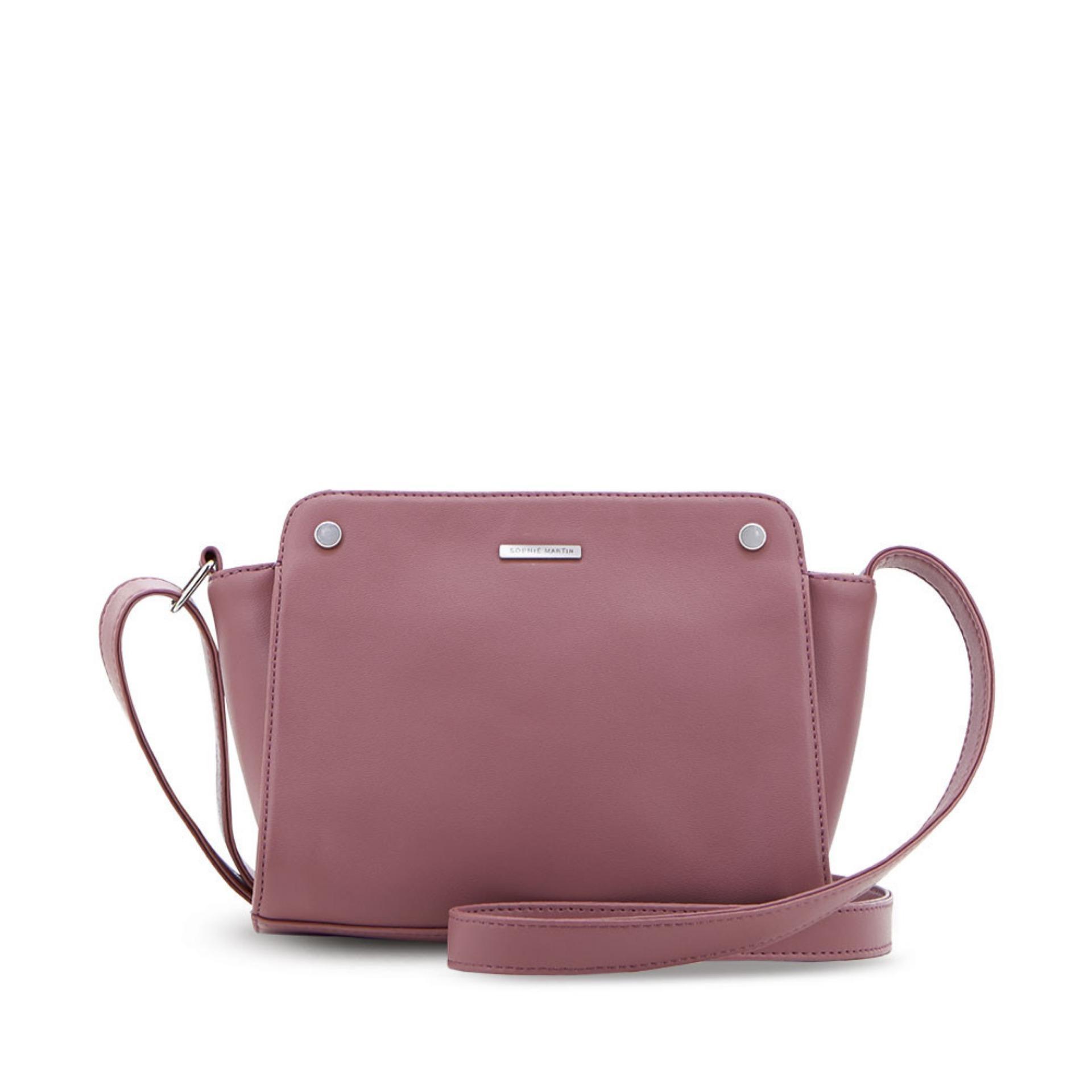 Fitur Sophie Paris Tas Selempang Wanita Import Branded Cielo Bag Hana Ahphbu Liana T4482d1 Dusty Pink