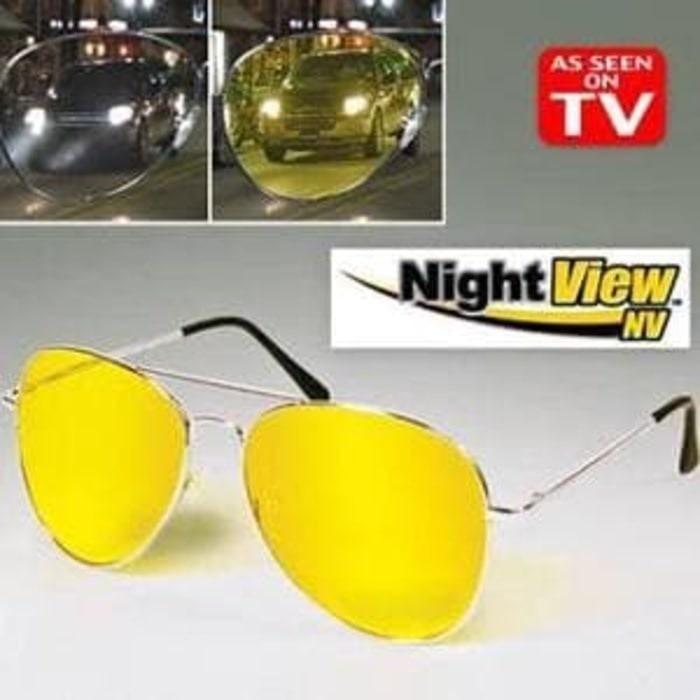 Mellius Night View Vision Kacamata Malam Anti Silau