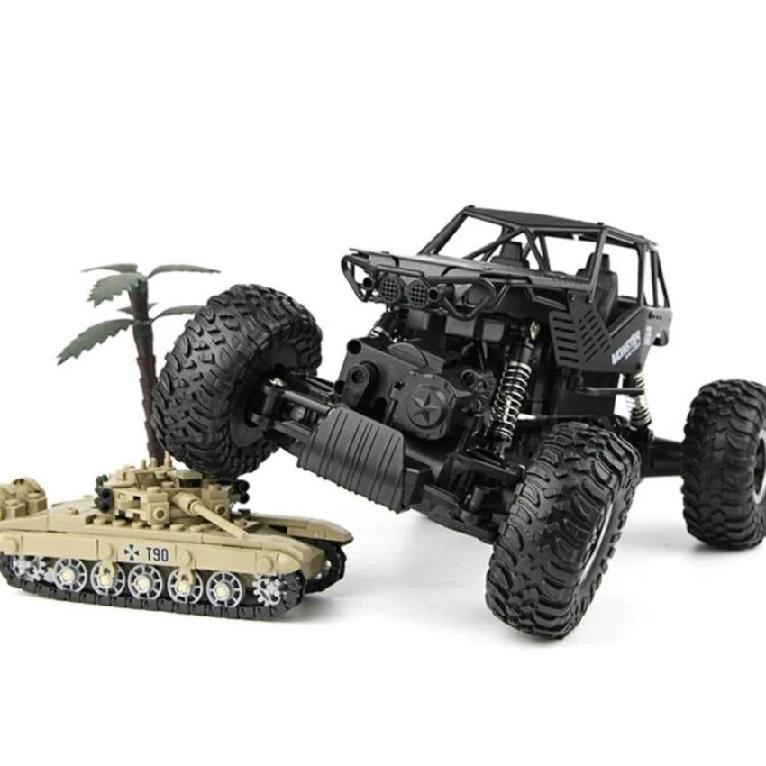 Beli Mobil Mainan Remote Control Rock Crawler Skala 1 18 4Wd Offroad 2 4Ghz Pakai Kartu Kredit