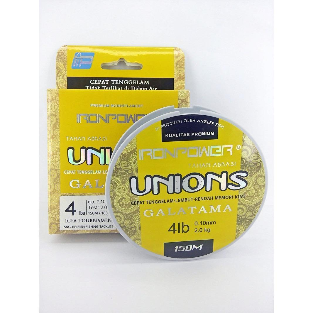 Buy Sell Cheapest Senar Iron Power Best Quality Product Deals Raket Badminton Original Rs Iso 555 Pancing Unions 4lbs 150m 1pcs
