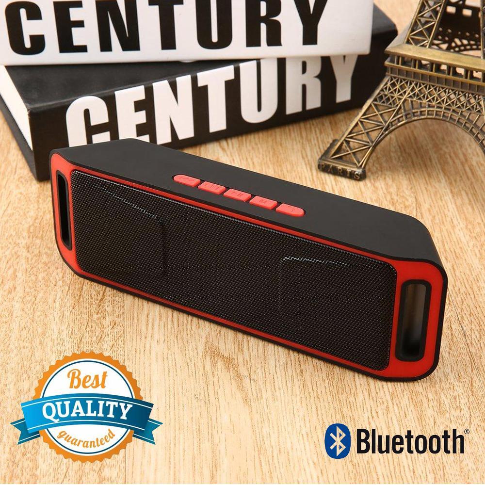 Unique Bluetooth Speaker Wireless Portable Stereo Support Micro SD USB FM Radio S208 For Smartphone Android