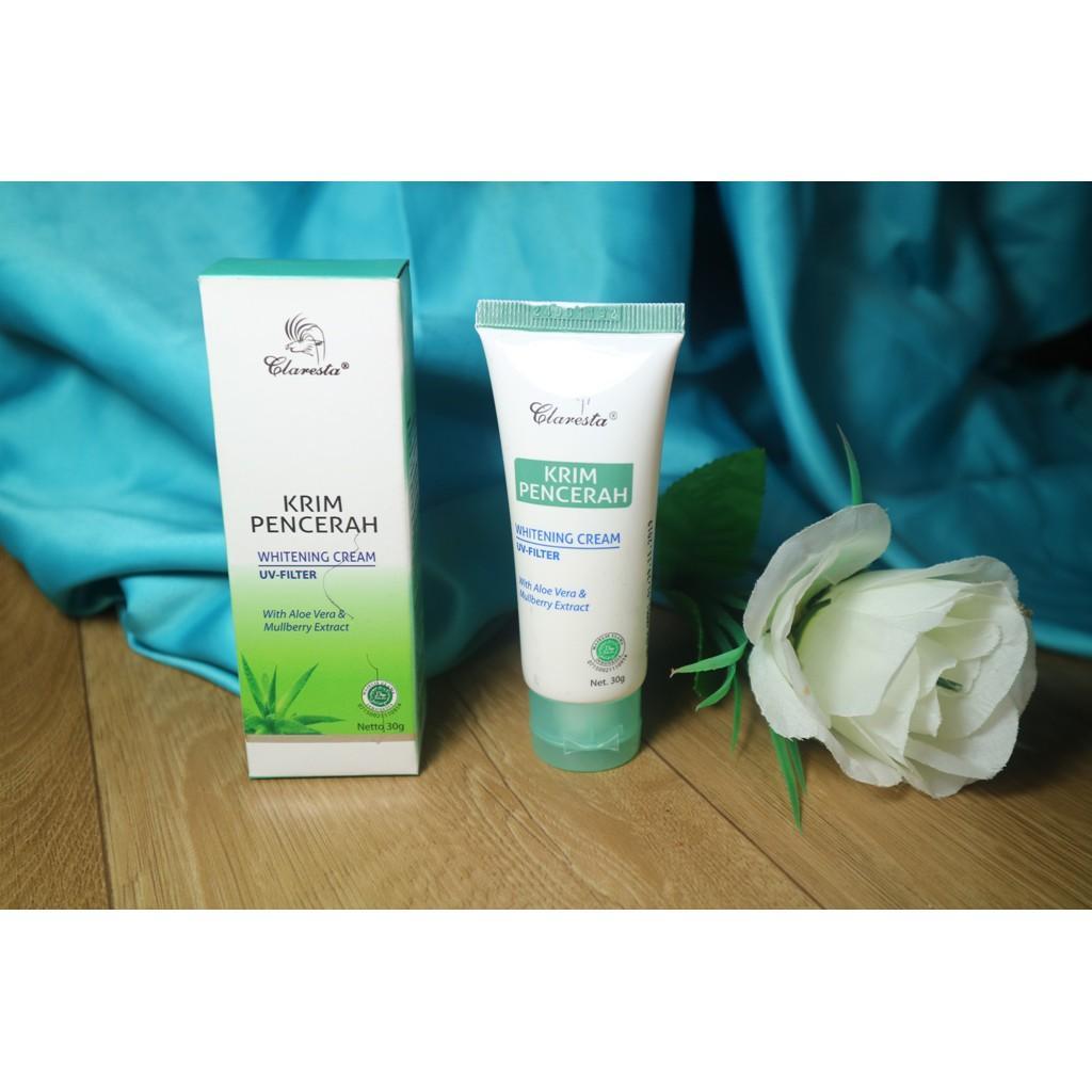 Cream Collagen Siang Dan Malam Plus Sabun Handbody Vit E Claresta Krim Pencerah Whitening
