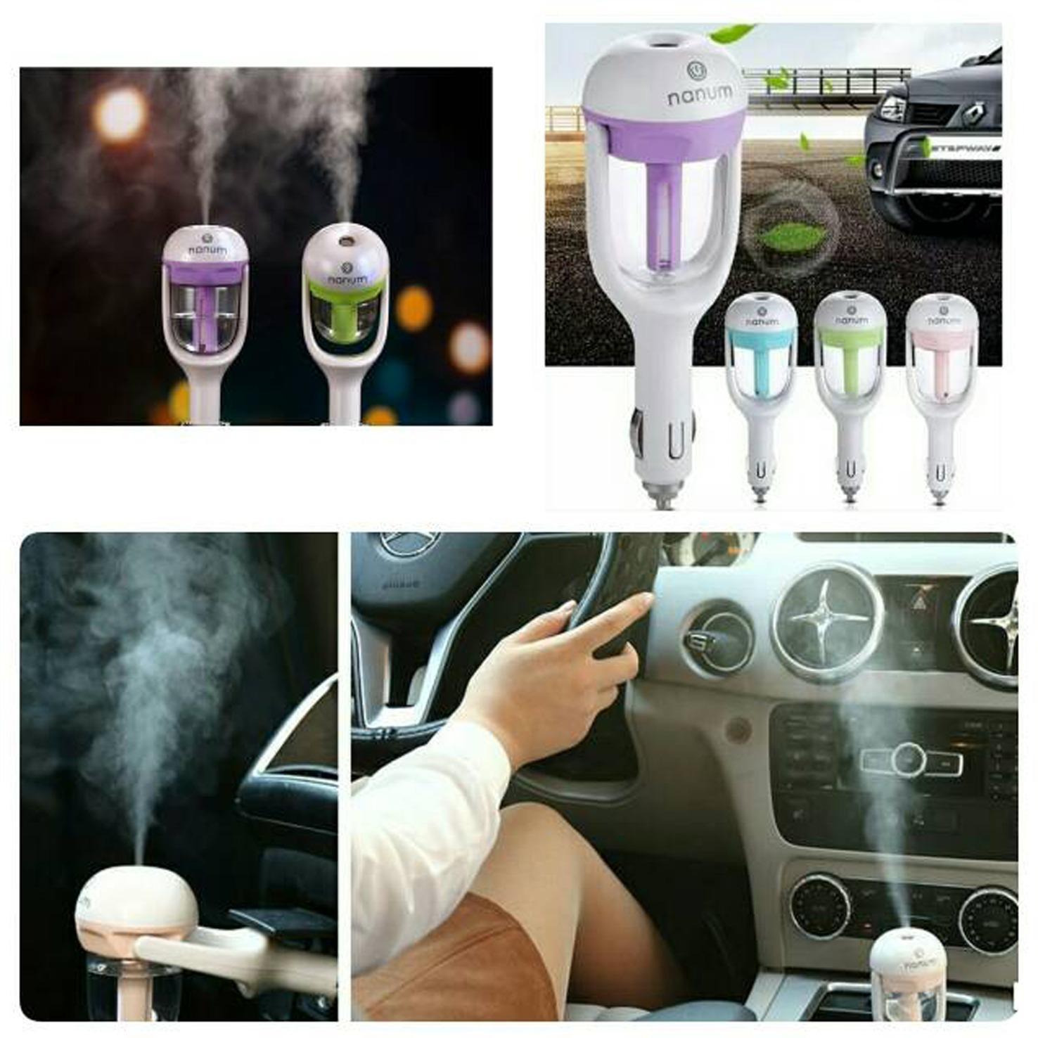 Fitur Air Car Humidifier Parfum Atau Aroma Terapi Mobil Dan Harga Nanum 2