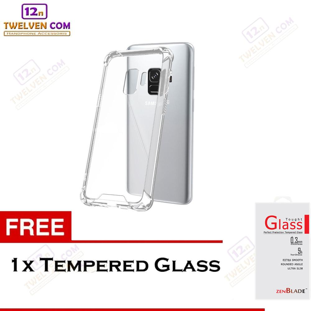 Zenblade Anti Shock Anti Crack Softcase Casing for Samsung A6 2018 - Free Tempered Glass