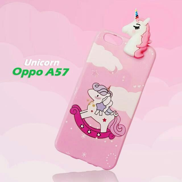 Daftar Harga Intristore Softcase Silicon Phone Case Unicorn Manjat For Oppo A57 Intristore