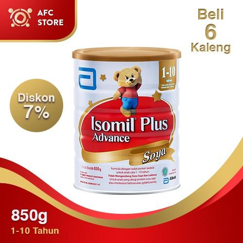 Situs Review Isomil Plus Advance Soya 850Gr 6 Kaleng