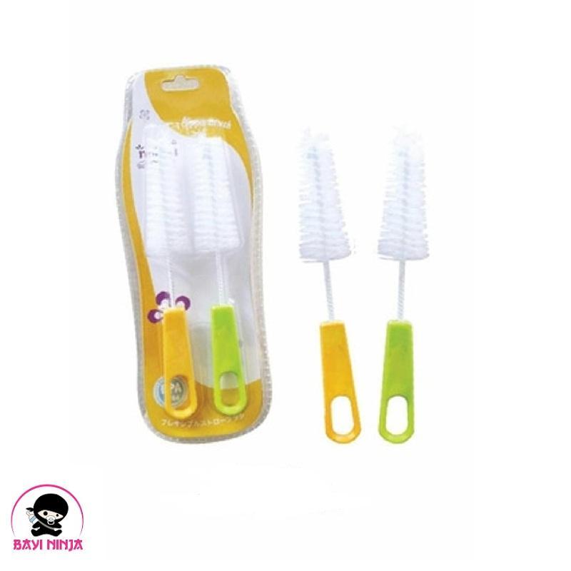 NAOKI Nipple Brush Sikat Dot isi 2 pcs NA9308
