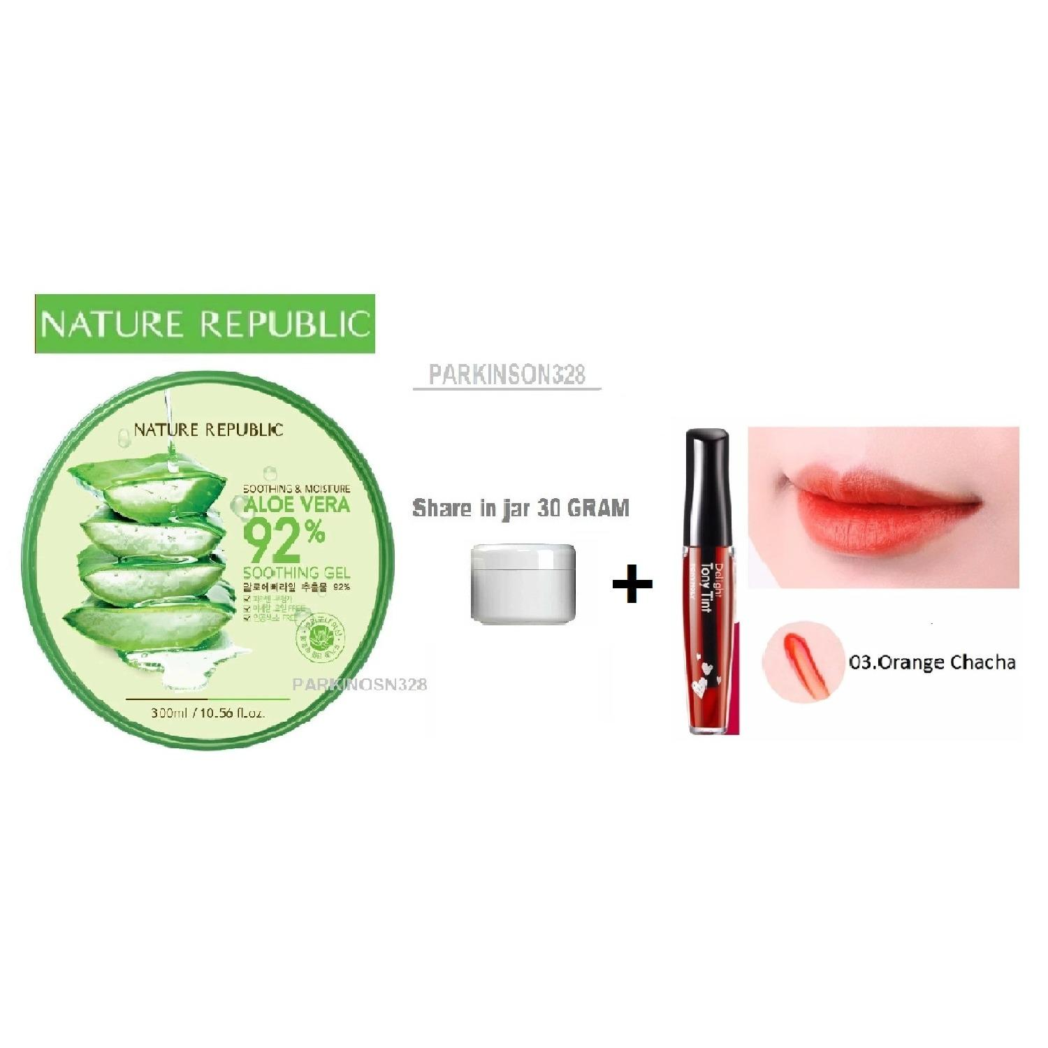 Cek Harga Baru Nature Republic Soothing Moisture Aloe Vera 92 Gel Jar 300 Ml Original Korea Share In