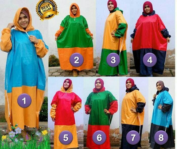 Features Hot Promo Mantel Gamis Jumbo Jas Hujan Muslimah Ukuran