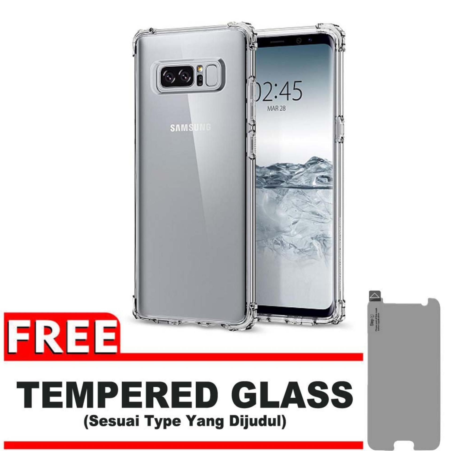 Cek Harga Baru Tpu Edge Samsung Galaxy Note 5 N920 Duos Lte Anti Log On Shock Screen Protector Gores 8 Depan Shockcase For N950 4g Premium Softcase