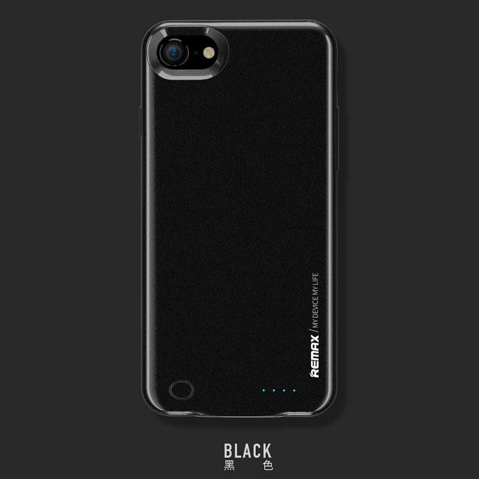 Remax Energy Jacket Power Bank Case 3400mAh for iPhone 7 Plus - Black - 4