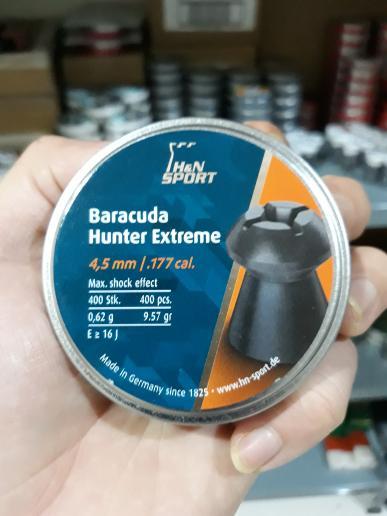 ASLI!!! Mimis baracuda hunter extreme pellets call 177. .4.5mm germany