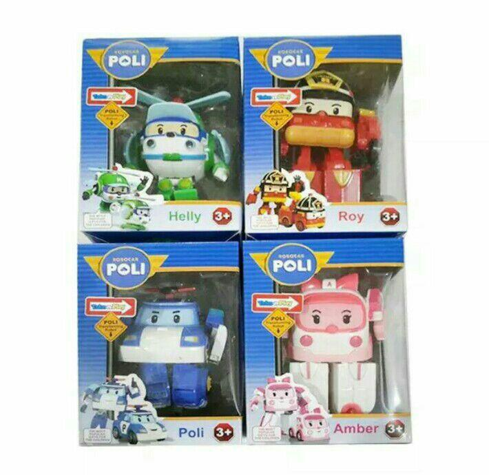 Helly Robot Helicopter Mainan Anak. Source · Robocar poli 1 set transformer .