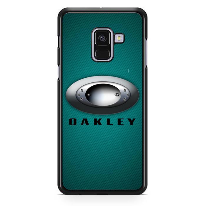 Casing Hardcase Samsung Galaxy A8 Plus 2018 Motif Oakley Z4050