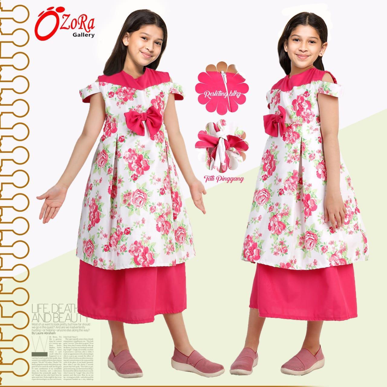 Features Original Sale Baju Gamis Anak Brokat Brukat Pesta Muslim