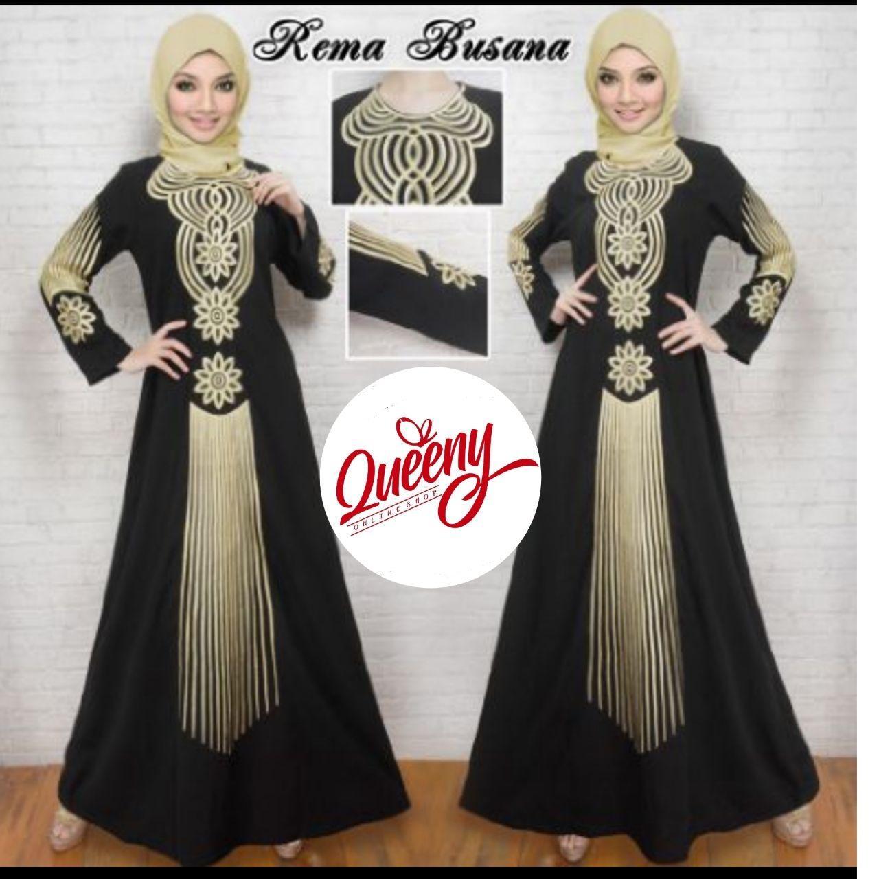 Beli Gamis Abaya Hitam Arab Fashion Muslimah Abaya Modern Terbaru