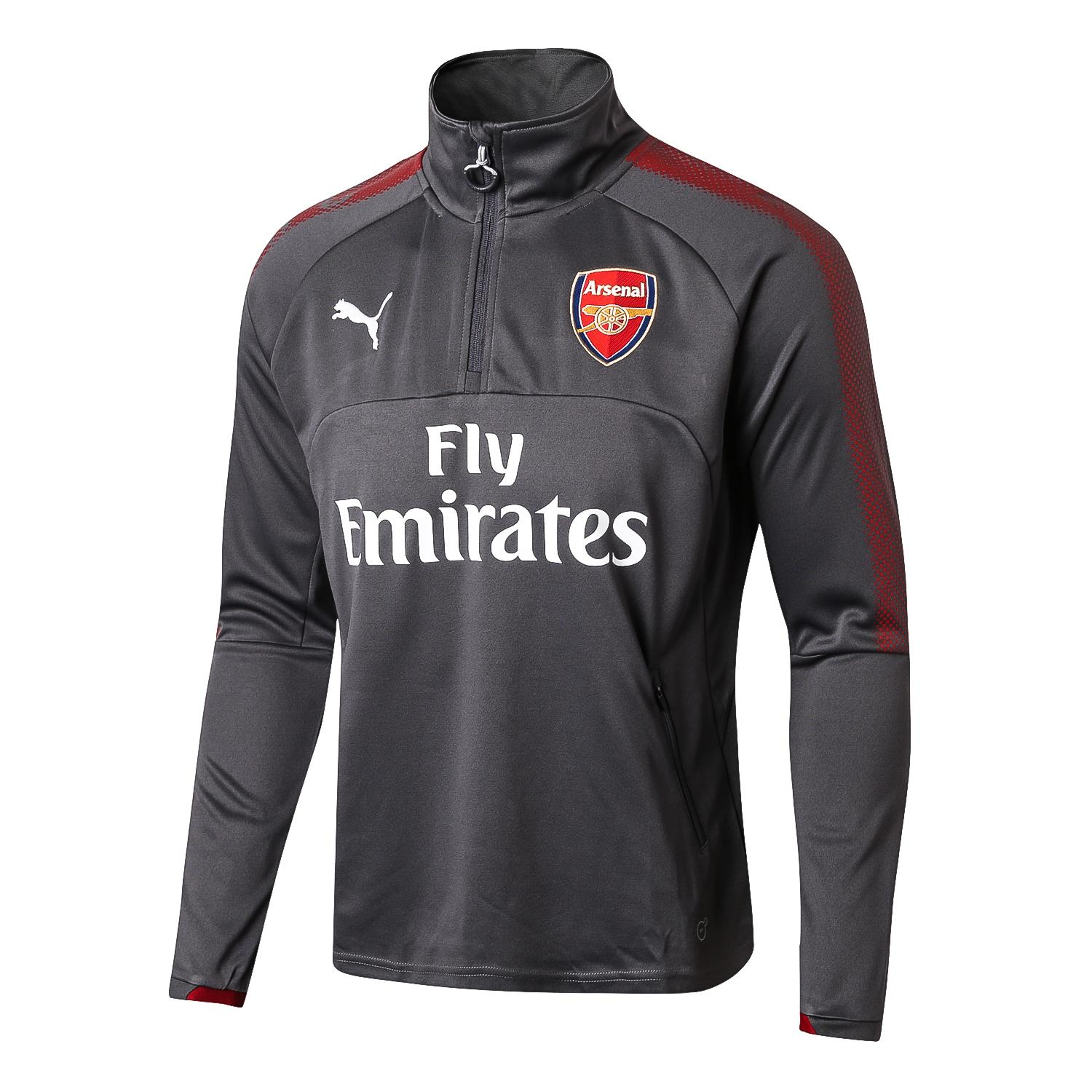 Harga Top Quality Arsenalfc Long Sleeve Home Jersey T Shirt 2017 2018 Puma Black Label Baru