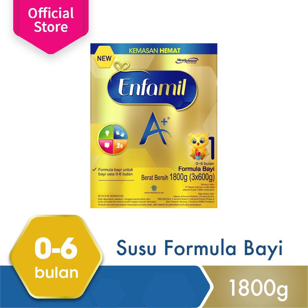 Harga Enfamil A 1 Susu Formula Bayi Plain 1800Gr Enfamil Baru
