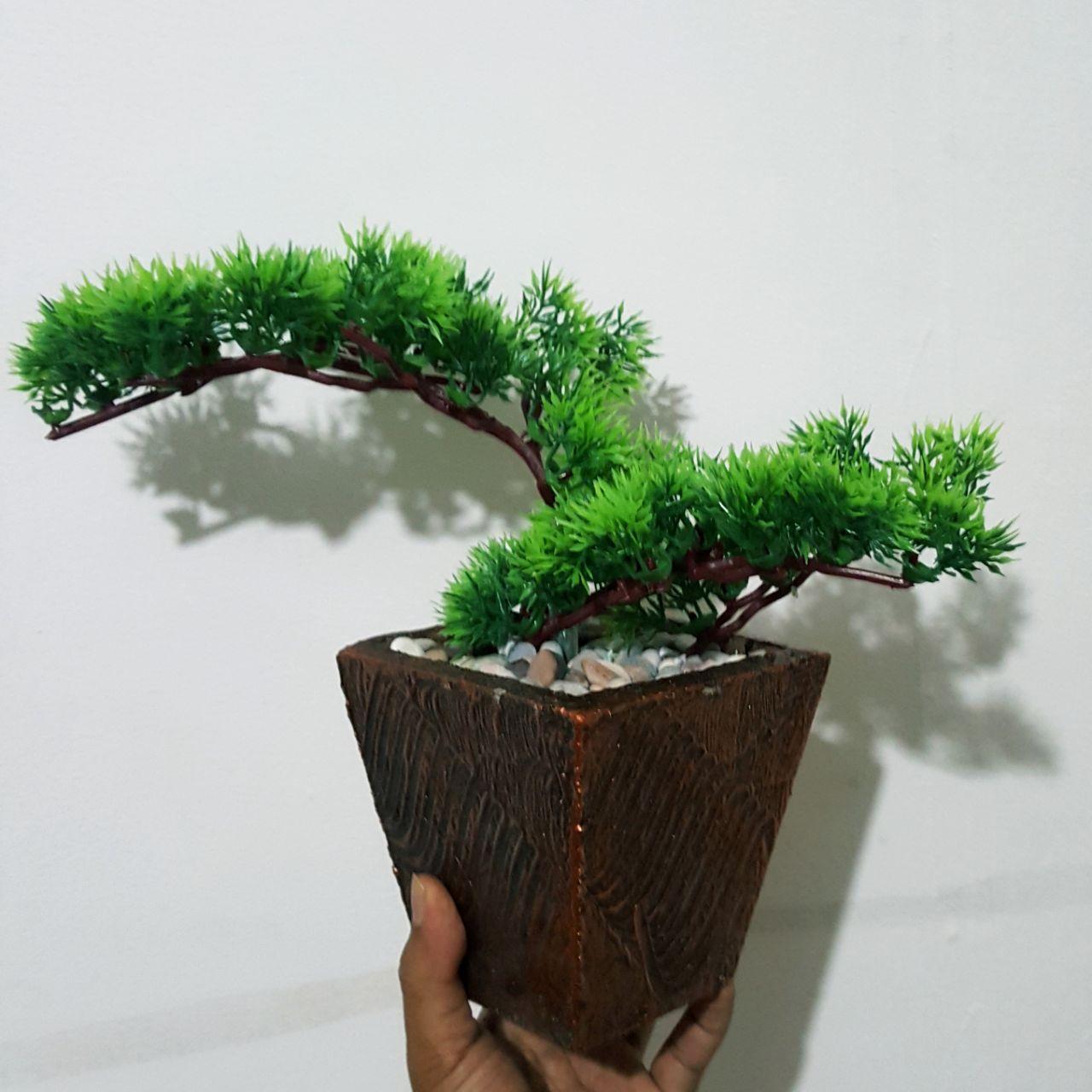 Bunga Pajangan - Tanaman Bonsai - Bunga Hias Plastik - Tanaman artifisial  FAD01 98fa967774