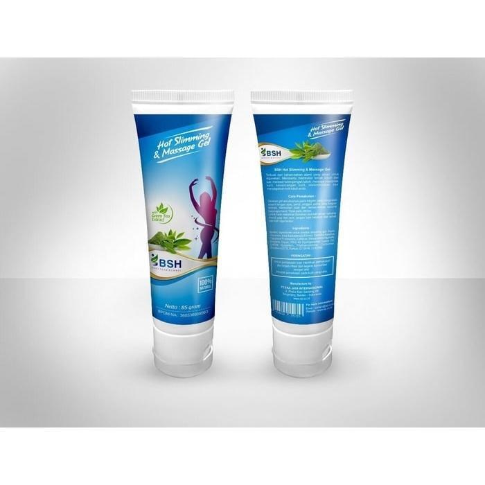 Lotion Body Slim Herbal BPOM Original 100% / Lotion BSH Slimming Cream / BSH Lotion