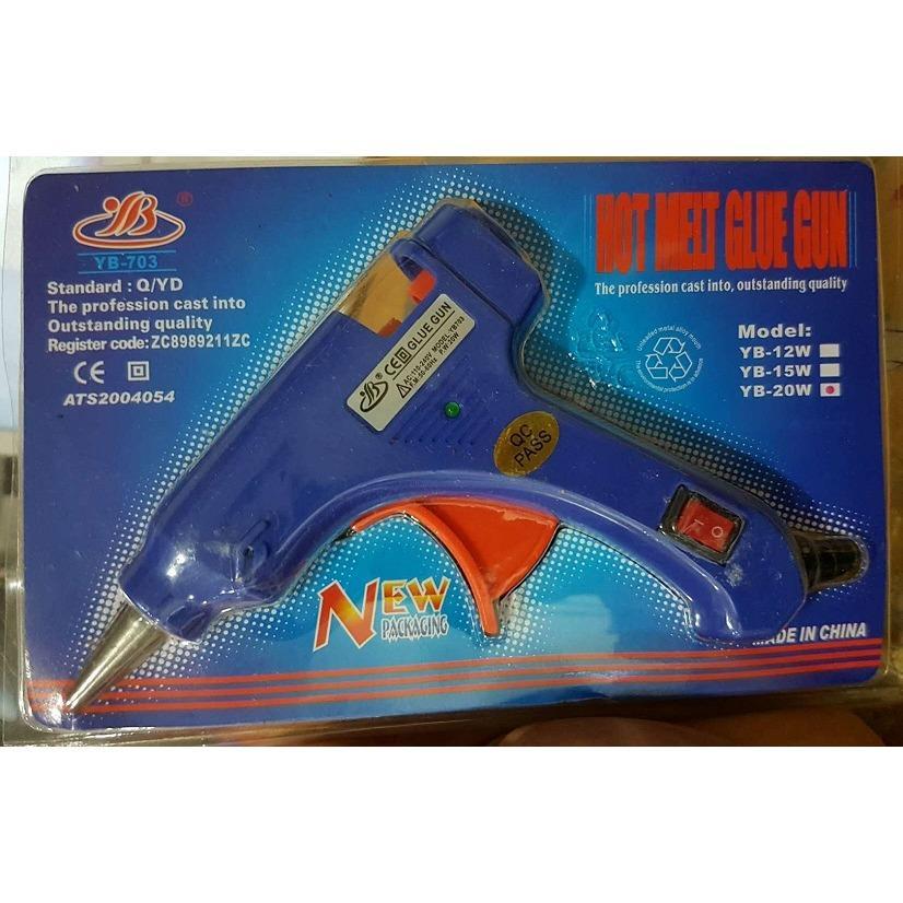 Detail Gambar Glue Gun/Tembakan Lem YB-703 /20W - Mawar88shop Terbaru
