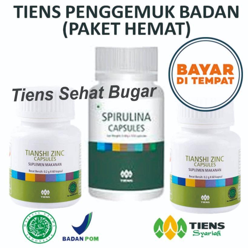 Beli Tiens Penggemuk Badan Herbal Paket Hemat By Tiens Sehat Bugar Tiens Dengan Harga Terjangkau
