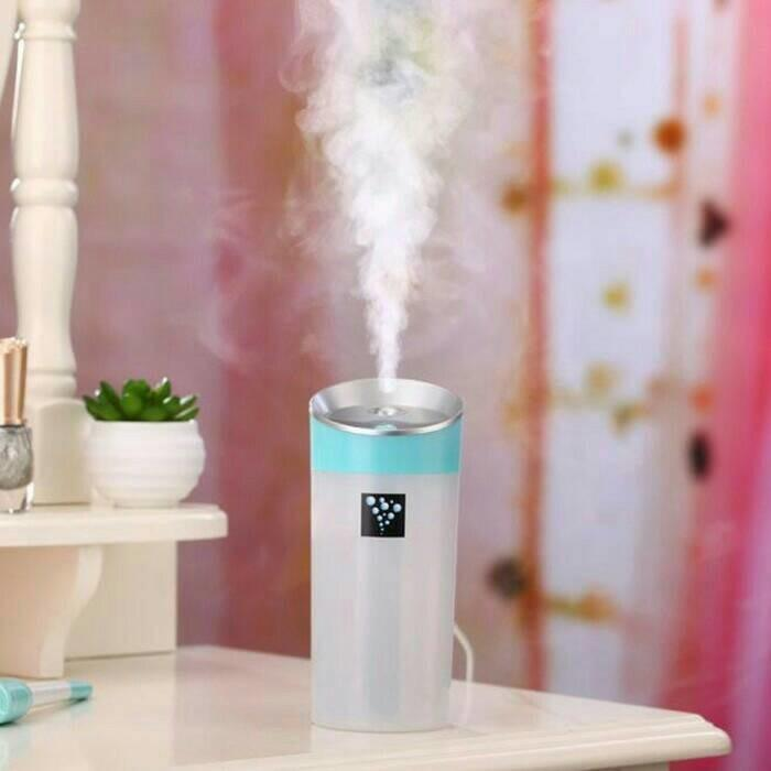 Jual Air Humidifier Udara Usb 300Ml Dengan Aromatherapy Import