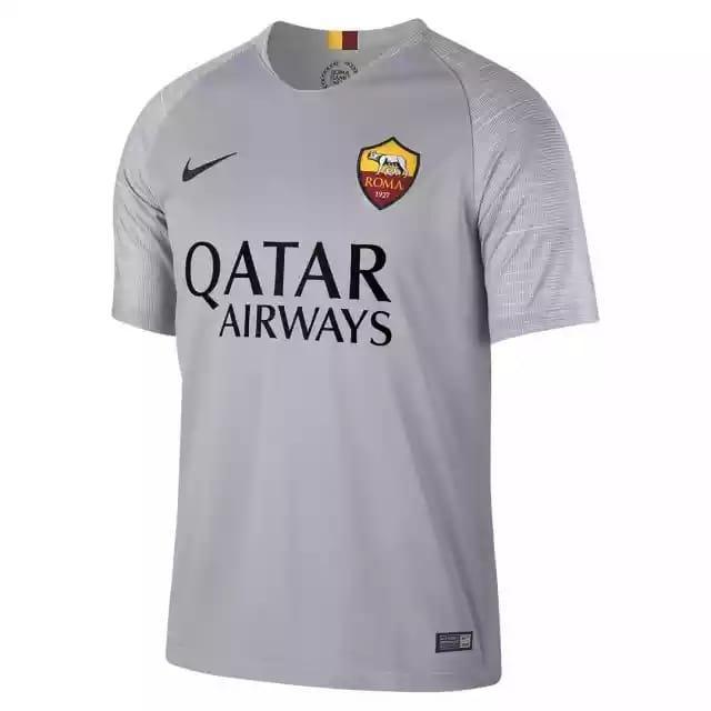 Cs - Jersey bola As-Roma away 2018/19 new