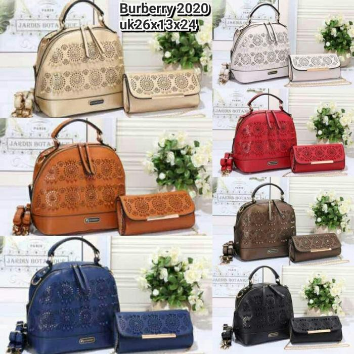 TAS BURBERRY 2020 SET 2IN1 LOVY SEMI SUPER