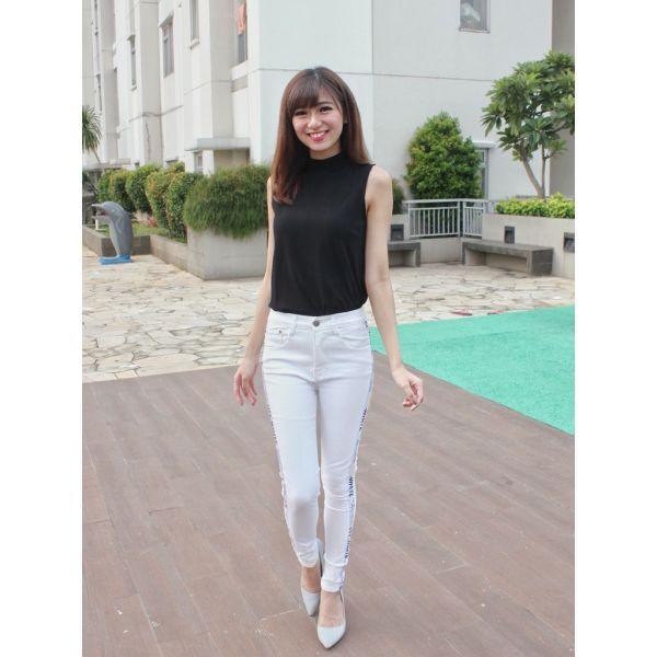 Celana Jeans Wanita Hopylovy - Zoey Celana Panjang Skinny Cewek Model Terbaru -