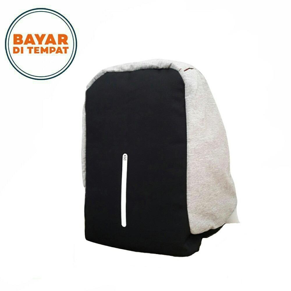 Toko Key Bag Tas Ransel Anti Maling 0318 18 Inchi Grey Lengkap Di Dki Jakarta