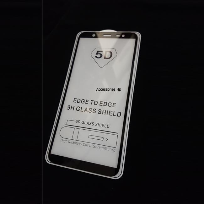 Accessories Hp Ambigo Tempered Glass 5D Full Cover Warna / Anti Gores Kaca Full Lem For ...