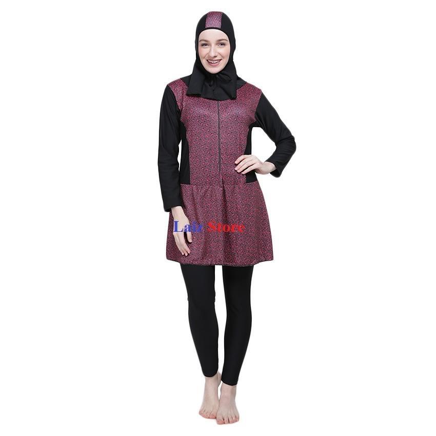 Baju Olahraga Renang Wanita Muslimah JUMBO BIG SIZE
