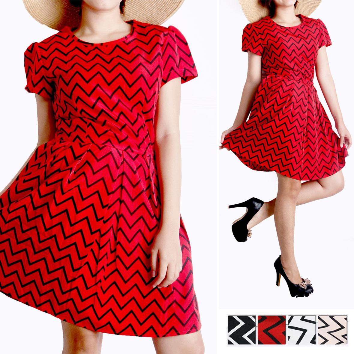 Oma Holley Fashion Berile Mini Dress Sleeveless 4 Warna-Size M