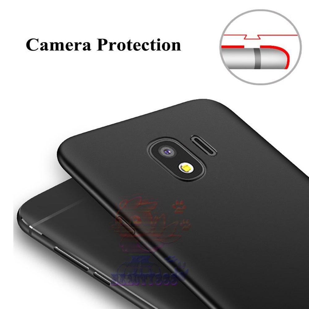 Lize Case Samsung Galaxy J4 2018 Rubber Silicone Anti Glare Skin Back Case .