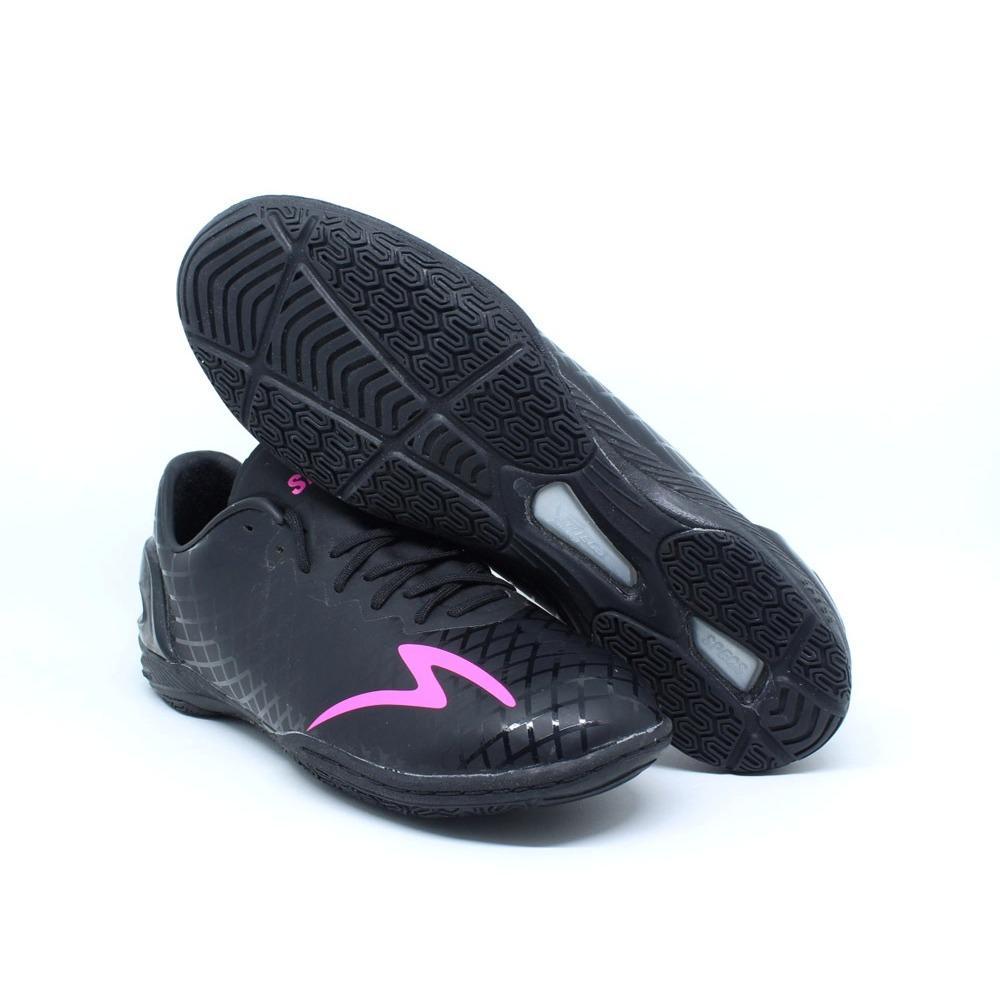 Detail Gambar Sepatu Futsal Specs Accelerator Exoced IN Hitam 400679  Original Terbaru d0374de3a3184