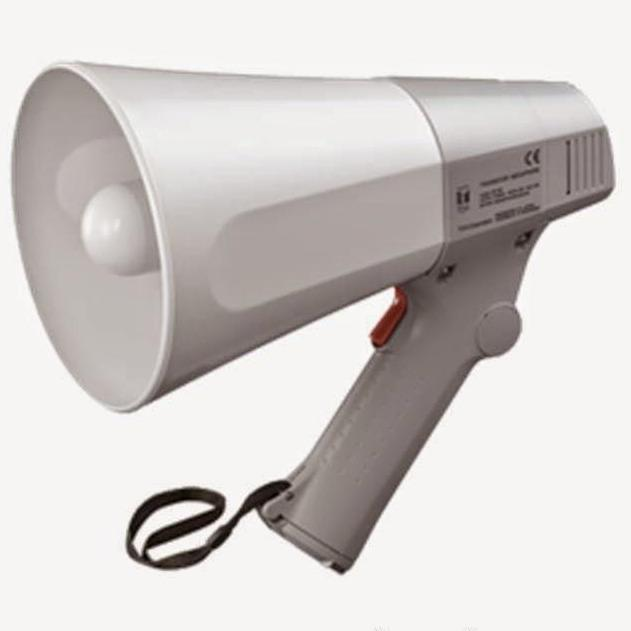 Toa Original Megaphone Corong Speaker Pengeras Suara Portable Outdoor Original