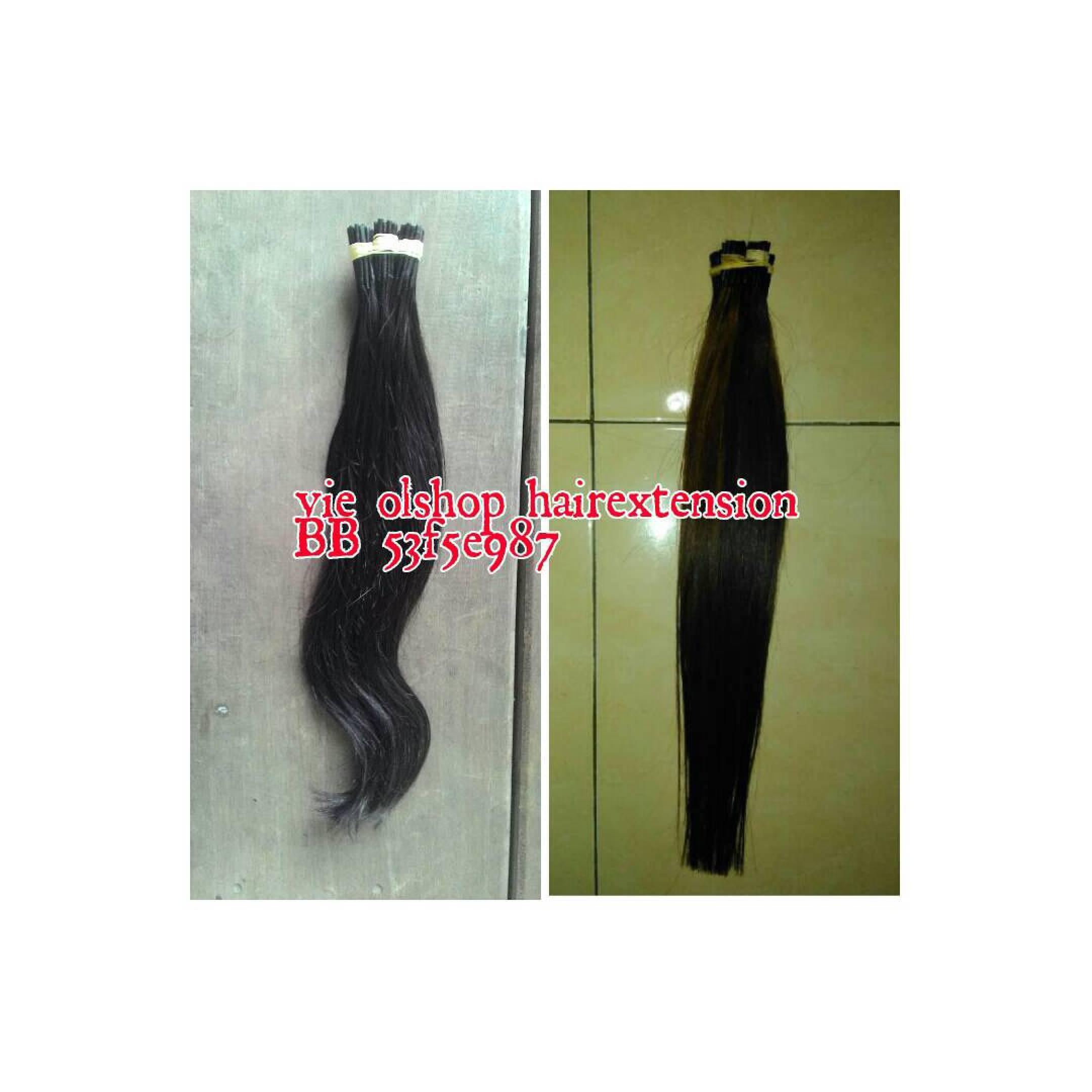 hair extension rambut sambung pure human bisa smoothing warna dll