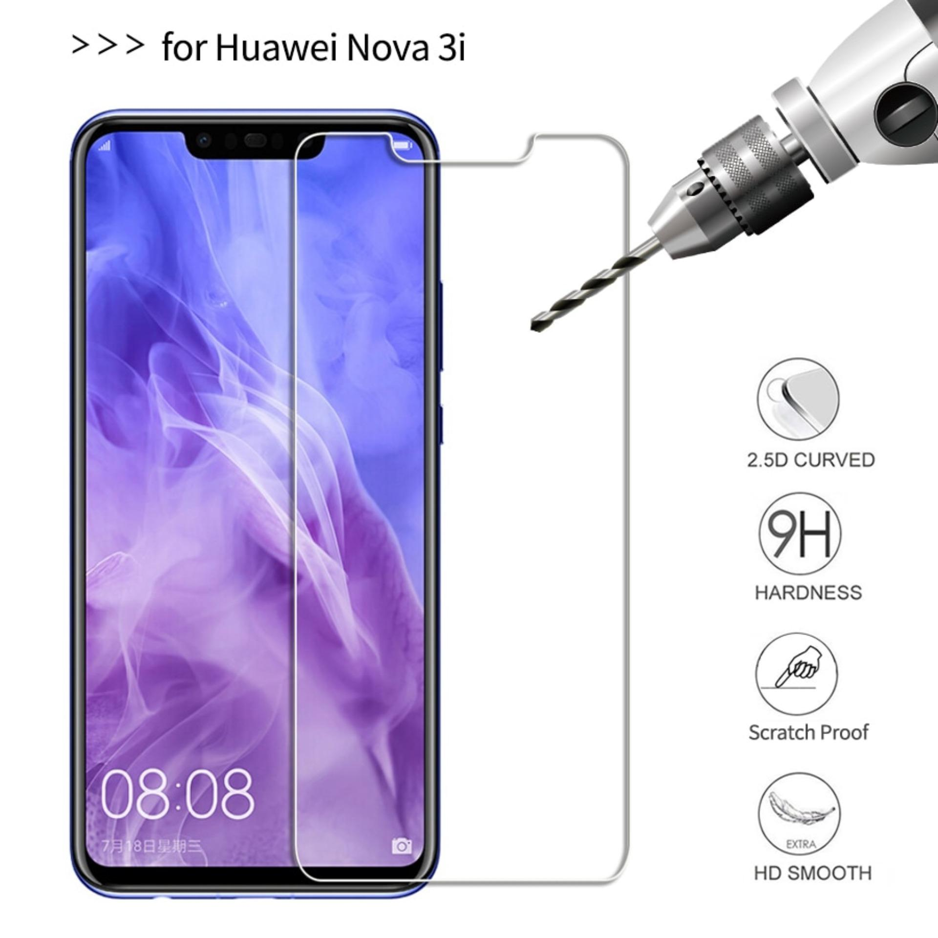 Detail Gambar Tempered Glass Screen Protector Anti Gores Kaca Huawei Nova 3i - Clear Terbaru