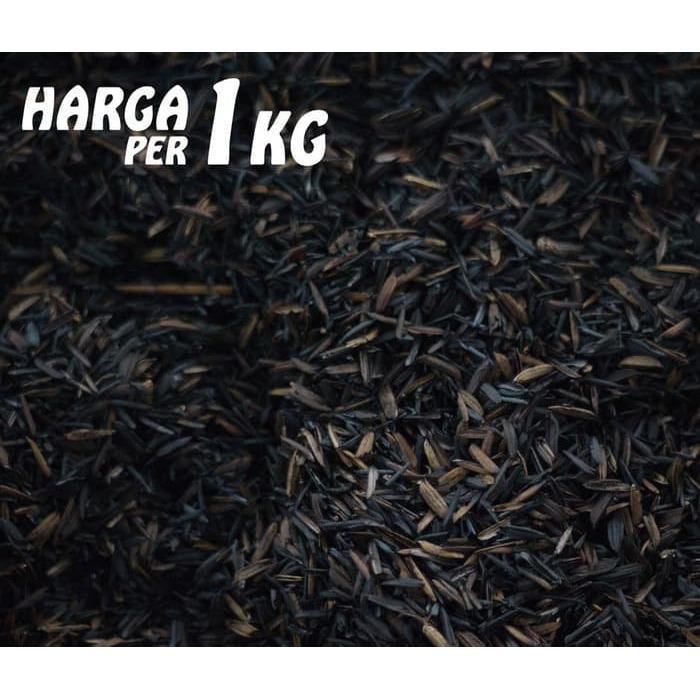 Produk Media Tanam Pertanian Hidroponik Arang Sekam / Sekam Bakar 1 kg