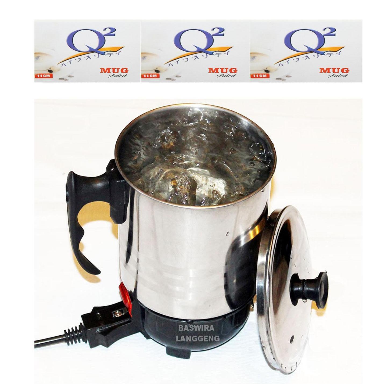 Fitur Teko Pemanas Air Q2 11 Cm Dan Harga Terbaru Info Electric Heating Cup 11cm Listrik Mug 3