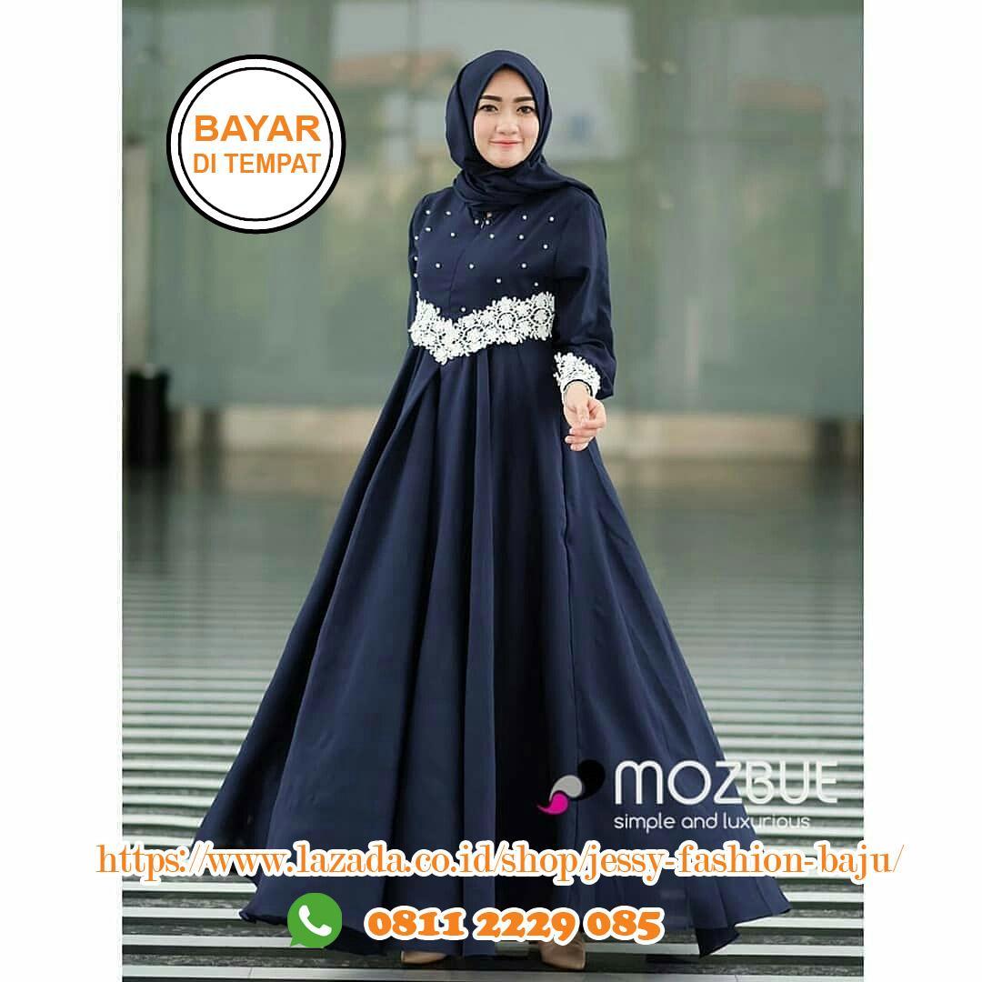 Baju Muslim Original Pajjera Dress Balotelly Baju Wanita Gamis Baju Terusan  Panjang Baju Kerja Gaun Pesta ff39b38bd0