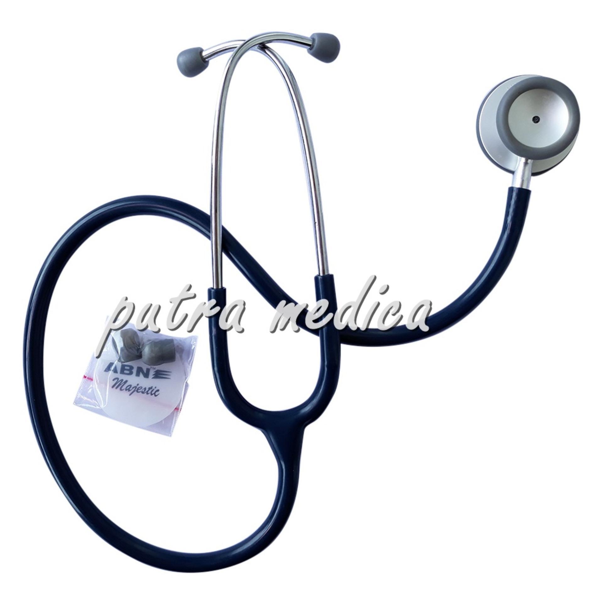 Miliki Segera Putra Medica Abn Stetoskop Majestic Navy Blue Alat Kedokteran