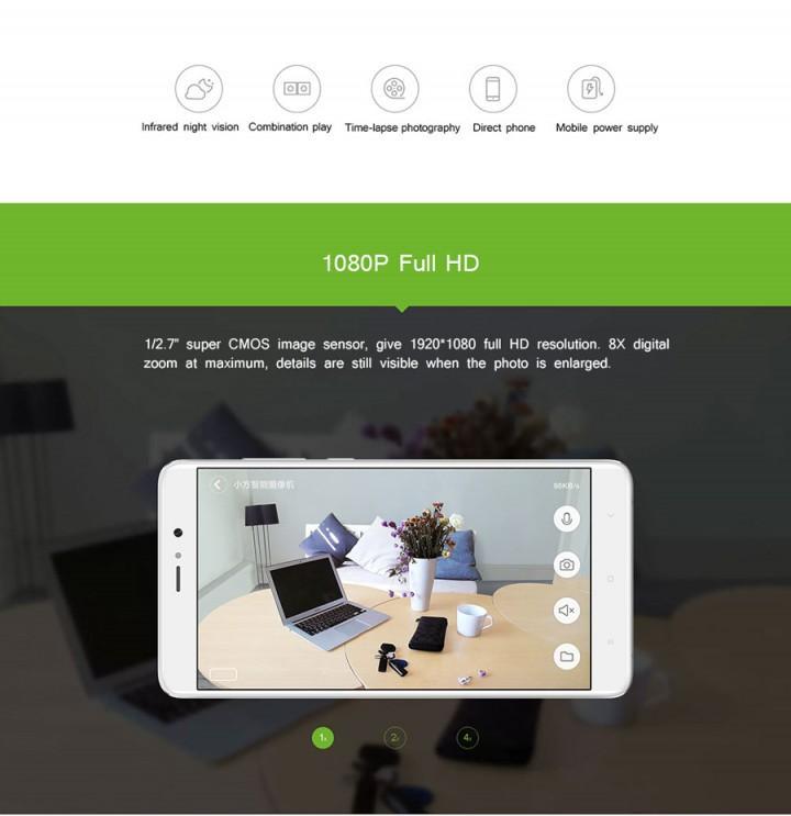 Review Xiaomi Xiaofang 1s Smart Cctv Wifi Ip Camera 1080p