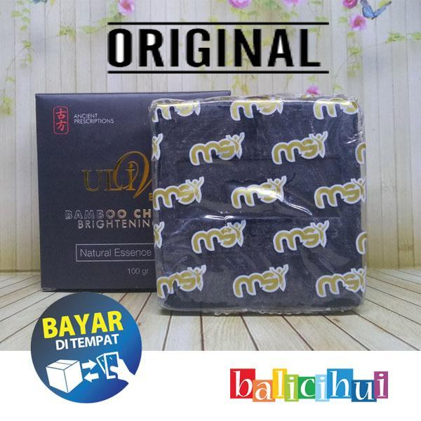 balicihui msi sabun bamboo ulive / charcoal soap 100% original