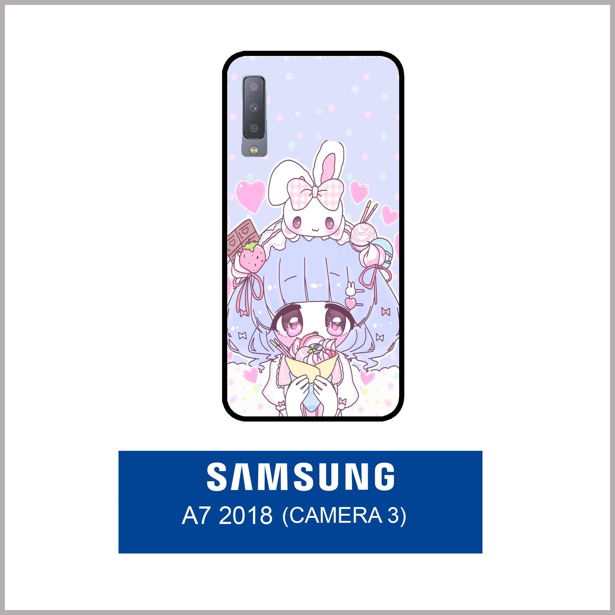 Case Fashion Printing For Samsung Galaxy A7 2018 (3 Camera) - 20