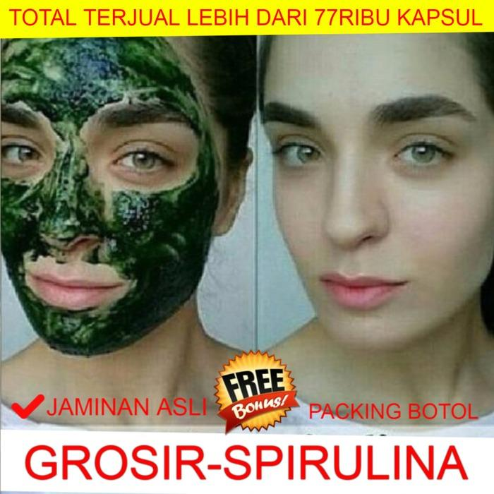 Diskon Masker Spirulina Jaminan Asli 100 Kualitas Import Kapsul Murah Akhir Tahun